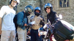cyril delon - france du sud - 2010 - ballade en moto