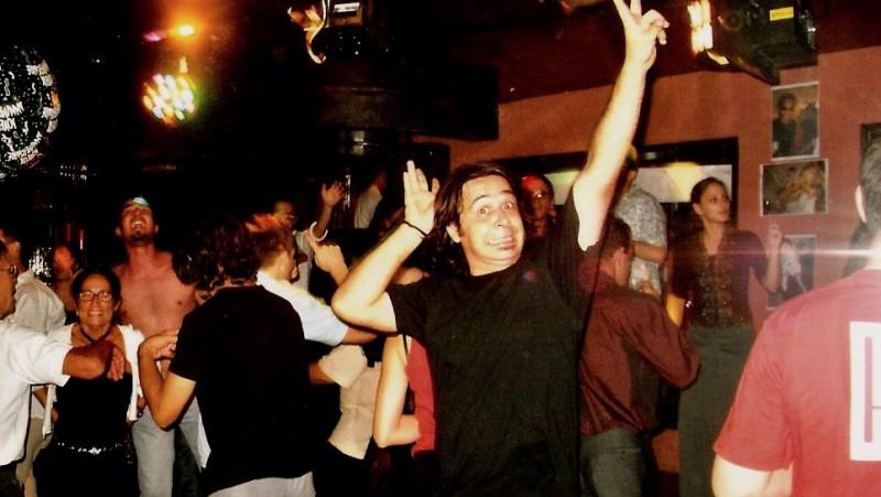 cyril delon - soirée anniversaire - the party - 2004
