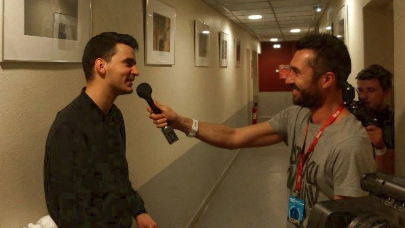Cyril Delon - Festival Electro - TILT -Perpignan - Interviews